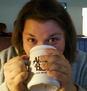 I'm drinking hot coco merely days before Charlie was born.